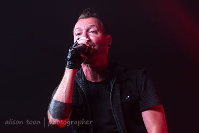 Trevor McNevan, vocals, Thousand Foot Krutch