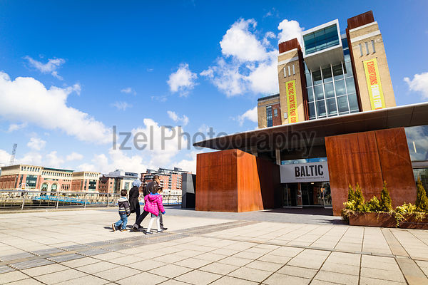 The Baltic Centre for Contemporary Art on the banks of the river Tyne, North East england