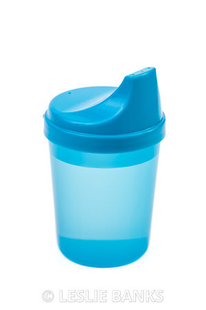 Blue Baby Sippy Cup