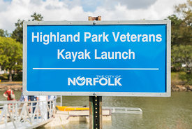 Highland Park Veterans Kayak Launch