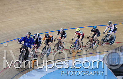 Men Keirin Round !. Track O-Cup #2, Mattamy National Cycling Centre, Milton, On, January 15, 2017