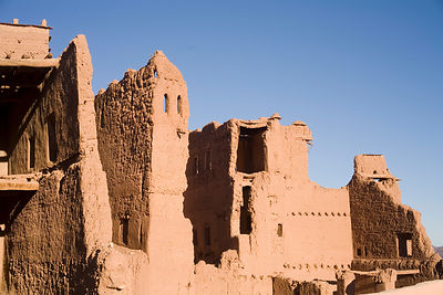 The Taourirt Kasbah in Ouarzazate