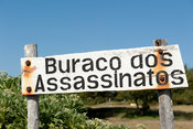 Barraco dos Assassinatos (House of Murders), Tofo, Mozambique