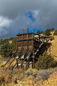 Old Mine Structure near Manhattan, Nevada