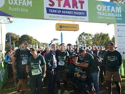 Melbourne Oxfam Trailwalker