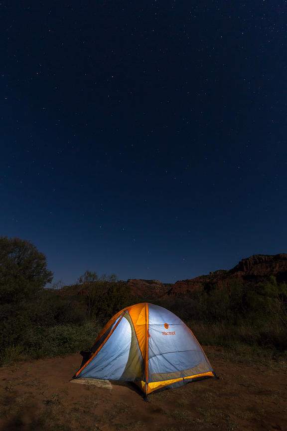 Tent and the Big Dipper