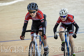 U15 Men Sprint 1/2 Final. Ontario Track Provincial Championships, March 5, 2016
