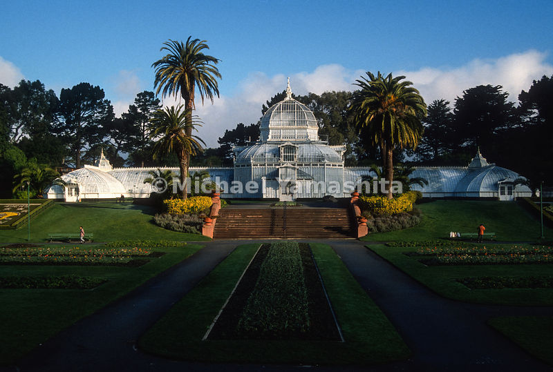 Conservatory of Flowers.Golden Gate Park.San Francisco, California