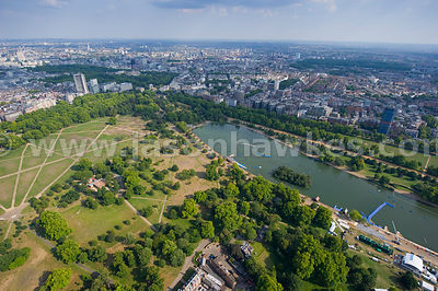 Hyde Park and the Serpentine
