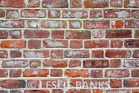 Rustic brick wall background