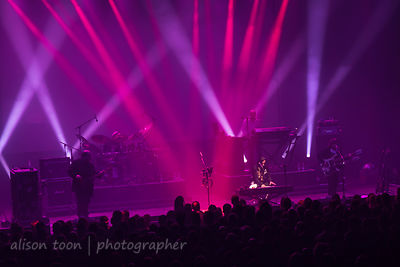 Łódź, Poland, 14 April 2019: Marillion performing at the Wytwórnia, Łódź, on the Sunday night of the 2019 Poland Marillion We...