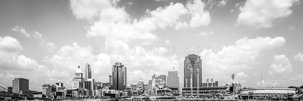 Panoramic Picture of Cincinnati Skyline