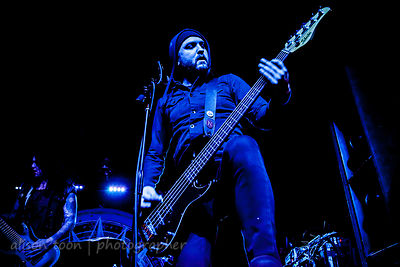 Anthony Barro, bass, New Years Day, Sacramento