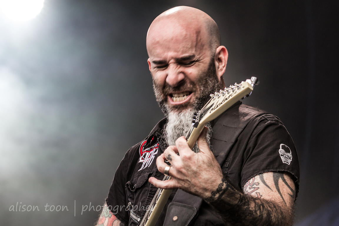 Scott Ian, guitar, Anthrax