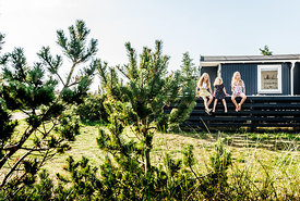 Danish girls at a summer house in Klitmøller