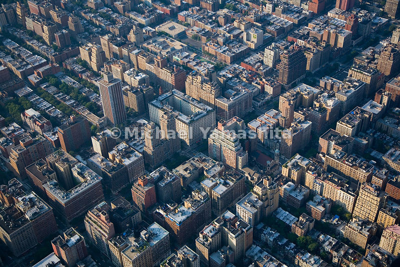 The Upper West Side has many apartments built around a central courtyard; the most massive of these is the Belnord at 86th St...
