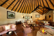 Lounge, Mashatu Main Camp, Mashatu Game Reserve, tuli block, Botswana