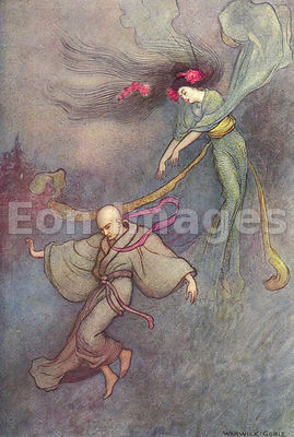 The Bell of Dojoji by Warwick Goble