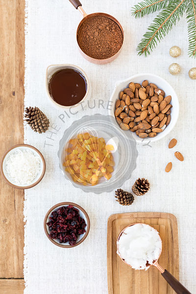 Ingredients for Almond Chocolate Bark