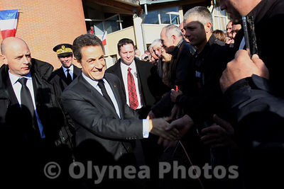 Nicolas Sarkozy visit department of Gers  2011