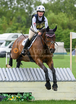 Sophie Moultrie and ZACHARY III - Rockingham International Horse Trials 2017