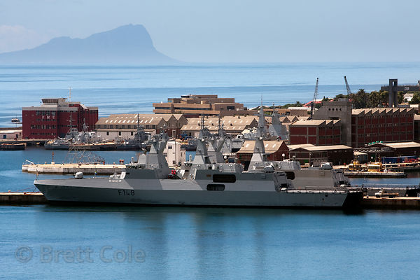 Naval ships, Simon's Town, South Africa