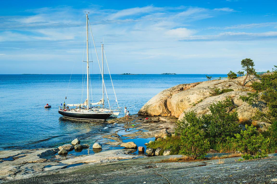 båt i stockholms skärgård