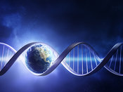 Earth inside a DNA strand