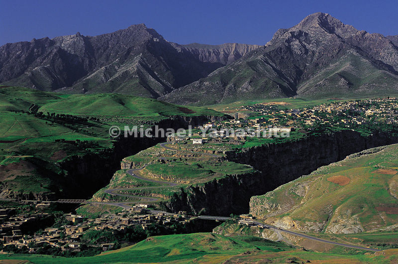 The vast mountain range in Ruwanduz, Iraq.