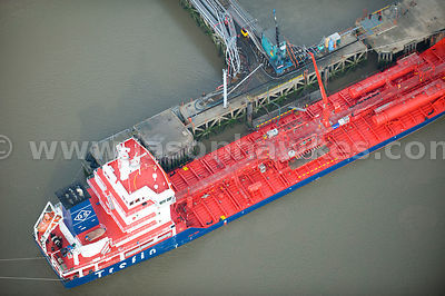 Ship Tanker, River Thames