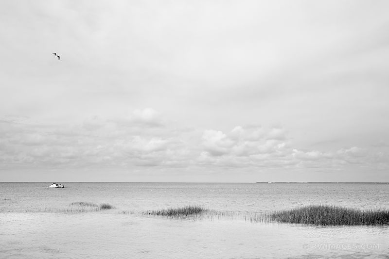 ROCK HARBOR ORLEANS CAPE COD MASSACHUSETTS BLACK AND WHITE