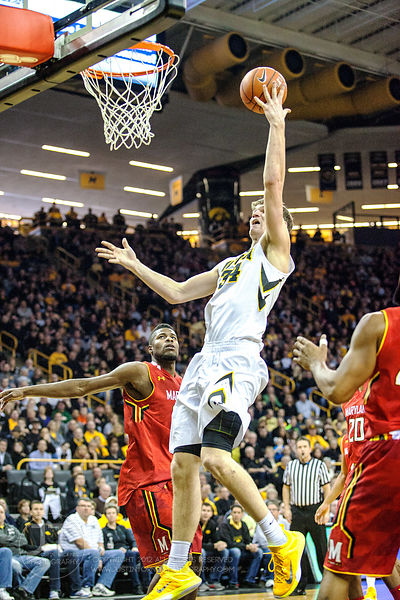 PC - Men's Basketball, Iowa vs Maryland, February 8, 2015