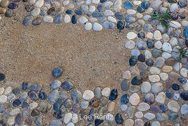 Polished Stone Walkway at Scorpion Ranch Visitor Center