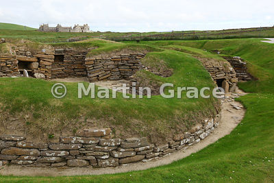 House 8, Skara Brae neolithic farming village, West Mainland, Orkney