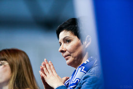 Woman during the Final Tournament - Final Four - SEHA - Gazprom league, Bronze Medal Match Meshkov Brest - PPD Zagreb, Belaru...