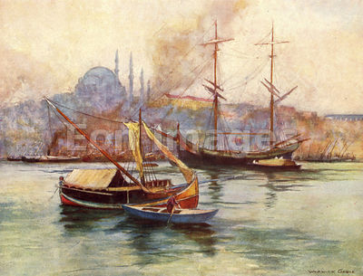 Golden Horn by Warwick Goble