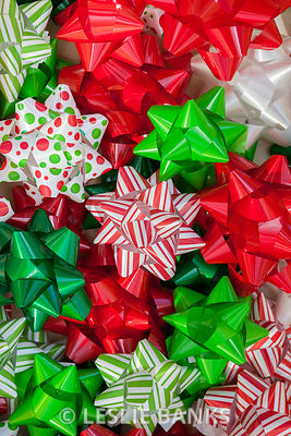 Christmas Bows Background