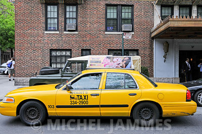 Les taxis jaunes de New-York