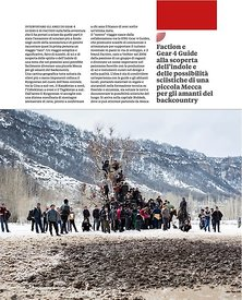 SCI magazine (Italia) - Kirghizstan Trip - Faction skis & Gear4Guides - 2015 - 10 pages
