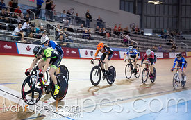 Junior Women Scratch Race. Canadian Track Championships (U17/Junior), April 3, 2016