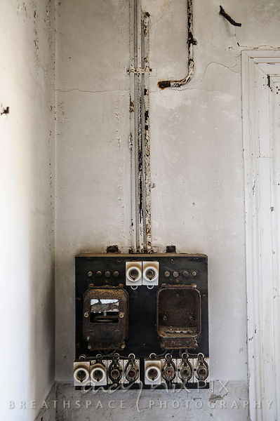 Andy Nix Pix :: BreathSpace Photography | An early 1900's fuse box in an  abandoned house in a ghost townAndy Nix Pix