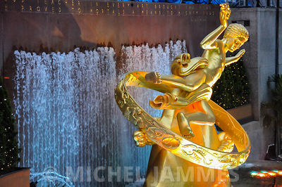 Fontaine du Rockfeller Center