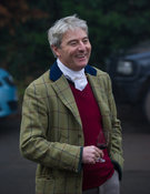 The Earl of Verulam - The Cottesmore Hunt at the Blue Ball 11/12