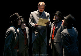 Intiman Theatre's production of Crime and Punishment