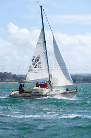 Spring Fever, GBR3605L, Hamble One Design, 20160702620