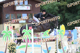PIETSCH Celina (GER) and VAN HELSING 14 during LAKE ARENA - Equestrian Summer Circuit I, CSI2* - Good bye comp.-145cm, 2018. ...