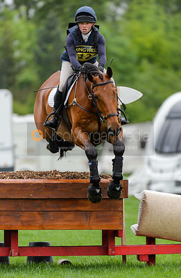 Rosalind Canter and DHI JURA - Rockingham International Horse Trials 2017
