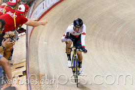 Men's Omnium Individual Pursuit, Track Day 1, Toronto 2015 Pan Am Games, Milton Pan Am/Parapan Am Velodrome, Milton, On; July...