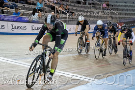Men Keirin 7-12 Final. Canadian Track Championships, Saturday Morning Session, September 29, 2018