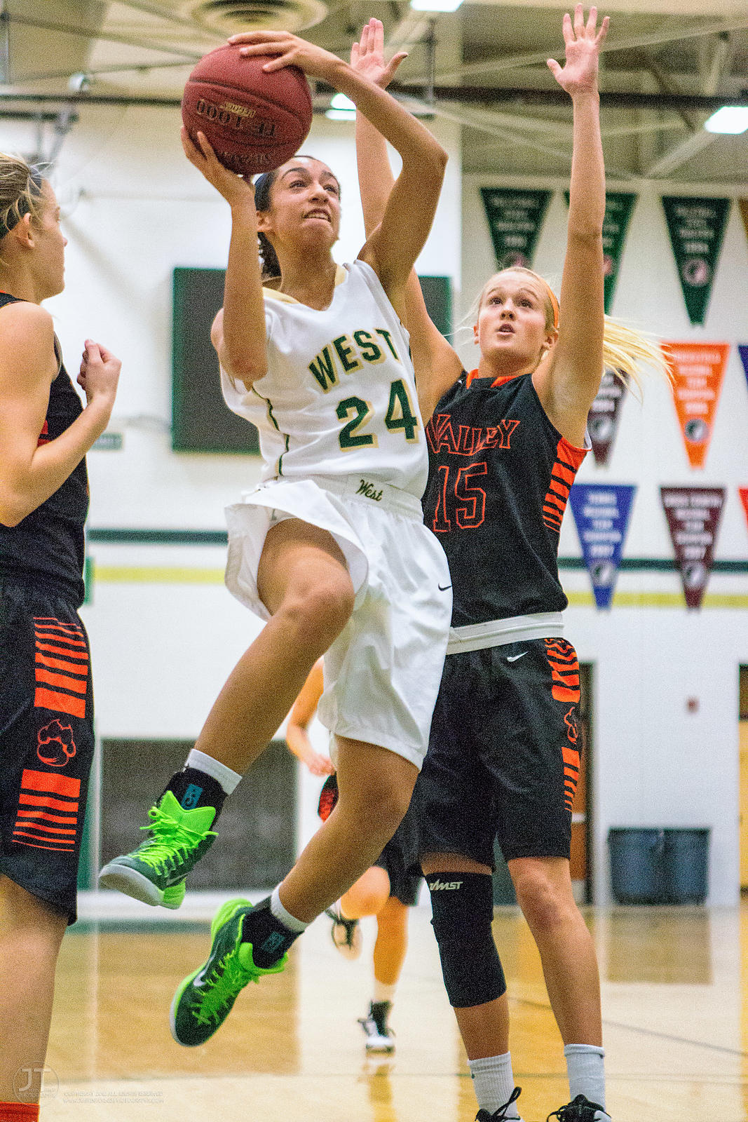 Girl's Prep Basketball, Iowa City West vs West Des Moines Valley, January 24, 2015